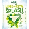 Bud Light Lime- A- Rita Splash beer Label Full Size