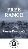 Kalona Free Range Honey Kolsch beer