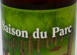 Dieu du Ciel Saison du Parc beer Label Full Size