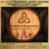 Avery Barrel Aged Series  #38 Certatio Equestris Beer