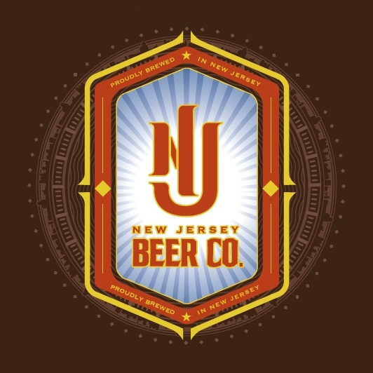 New Jersey Brown ale beer Label Full Size