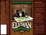 Elysian Idiot Sauvin IPA beer