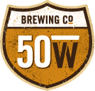 Fifty West Engine Trouble Double IPA beer Label Full Size
