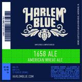 Harlem Blue 1658 Wheat Ale beer