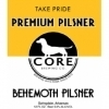 Core Behemoth Pilsner Beer