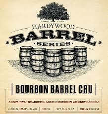 Hardywood Barrel Series Bourbon Barrel Cru beer Label Full Size