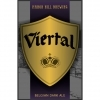 Manor Hill Barrel-Aged Viertal beer Label Full Size