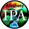 4 Mile Allegheny IPA beer Label Full Size