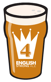 512 English Strong Ale beer Label Full Size