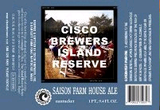 Cisco Island Reserve Saison Farm House Ale beer