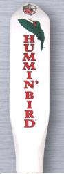 Red Oak Hummin' Bird beer Label Full Size