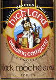 Highland Black Mocha Stout Beer