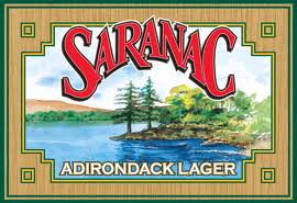 Saranac Adirondack Lager beer Label Full Size