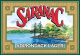 Saranac Adirondack Lager beer