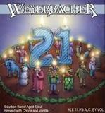 Weyerbacher  21st Anniversary Beer