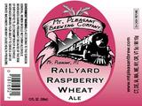 Mt. Pleasant Railyard Raspberry Wheat beer