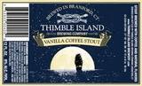 Thimble Island Vanilla Coffee Stout beer