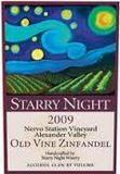 Starry Night O/V Zinfandel wine