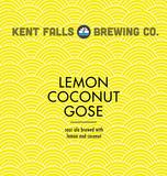 Kent Falls Lemon Coconut Gose Beer