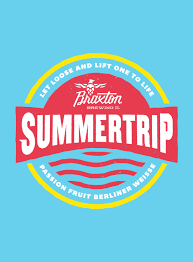 Braxton Summer Trip beer Label Full Size