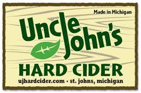 Uncle John's Apricot beer Label Full Size