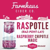Farmhaus Raspberry Chipotle beer