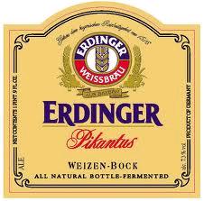 Erdinger Pikantus beer Label Full Size