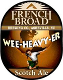French Broad Wee Heavy-er Scotch Style Ale beer