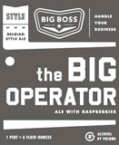 Big Boss Big Operator beer
