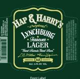 Yazoo Hap & Harrys Lynchburg Lager beer