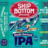 Ship Bottom Double Overhead IPA beer