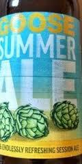 Goose Island Summer APA beer Label Full Size