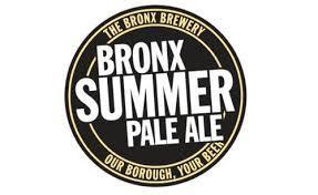 Bronx Summer Pale Ale w/Hallertau Hops beer Label Full Size