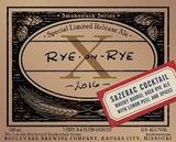 Boulevard Rye-on-Rye X Sazerac Cocktail Beer