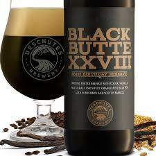 Deschutes Black Butte Porter XXVIII 28th Birthday Reserve beer Label Full Size