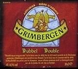Alken Maes Grimbergen Dubbel Beer