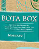 Bota Box Moscato wine