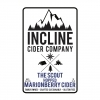 Incline The Scout Marionberry Cider beer Label Full Size