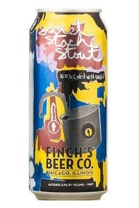 Finch's Secret Stache Stout Beer