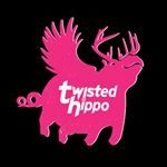 Twisted Hippo PLUMpass beer Label Full Size