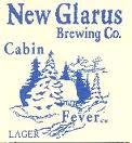 New Glarus Cabin Fever beer Label Full Size