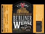 Victory Blackboard #3 Berliner Weisse with Elderflower Beer