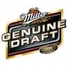 Miller Genuine Draft Aluminum beer Label Full Size