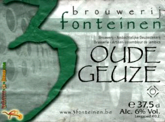 3 Fonteinen Oude Geuze beer Label Full Size