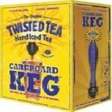 Twisted Tea Cardboard beer