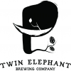 Twin Elephant Lil' Shimmy Ye' beer Label Full Size