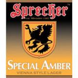 Sprecher Special Amber Beer