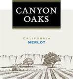 Canyon Oaks Merlot wine