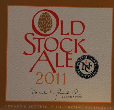North Coast Old Stock Ale 2011 Beer