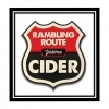 Rambling Route Hard Cider beer Label Full Size